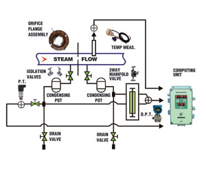 Gas and Steam flow meter (GFM)